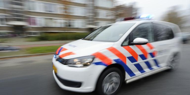 A1 dicht na ongeluk met politieauto