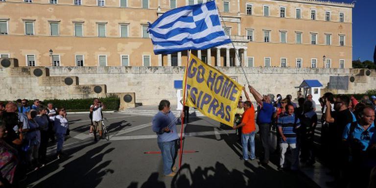 Grieks protest tegen bezuinigingen zwelt aan