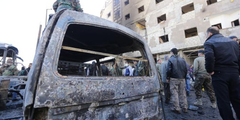 Bomaanslag treft voorstad Damascus
