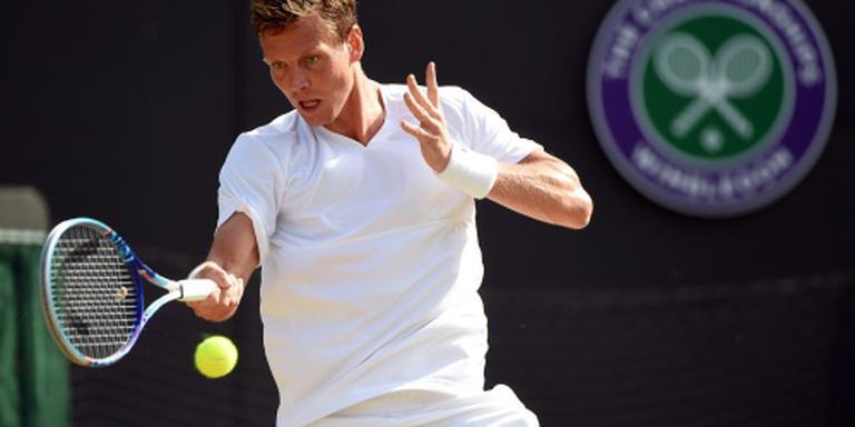 Berdych naar laatste vier op Wimbledon