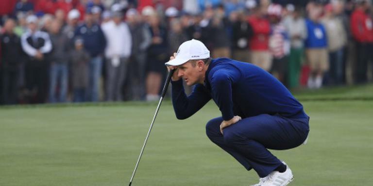 Olympisch golfkampioen Rose neemt rust