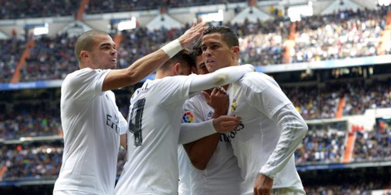 Zidane jaloers op 'unieke' Ronaldo