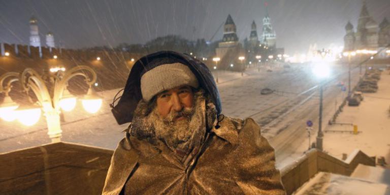 Winter overvalt Rusland