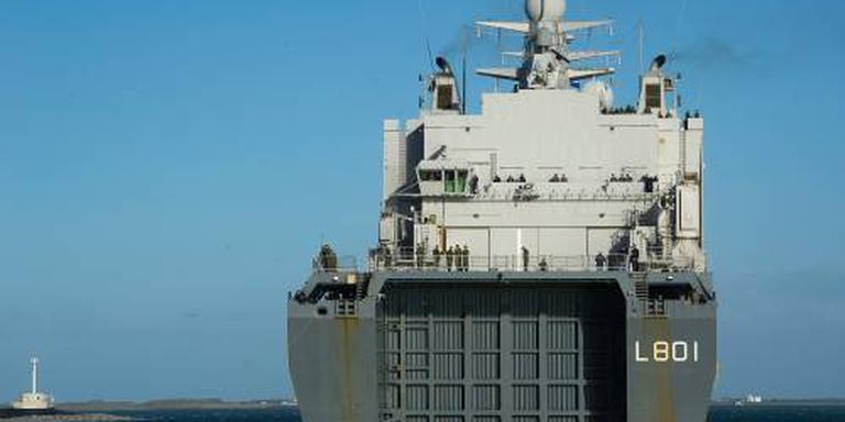 'Miljardenaankoop marineschepen met België'