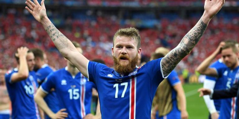 IJsland gelooft in stunt tegen Engeland