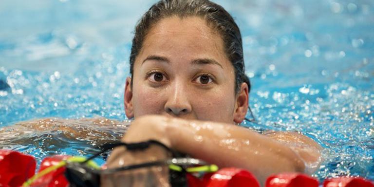 Kromowidjojo vierde in finale 50 m vlinder