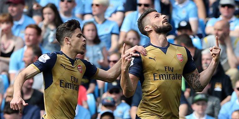 Arsenal houdt Manchester City op afstand