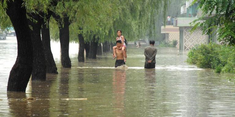 Noord-Korea geplaagd door overstromingen