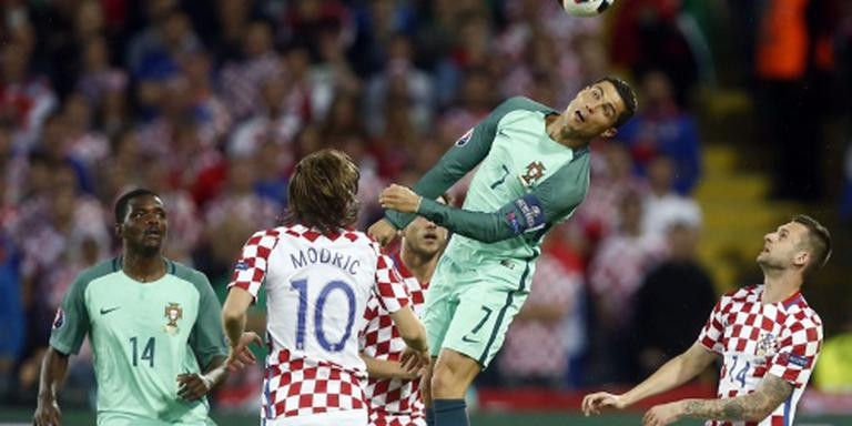 Portugal wint bar slechte wedstrijd in Lens