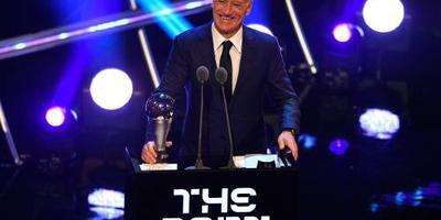 Deschamps beste coach van het jaar