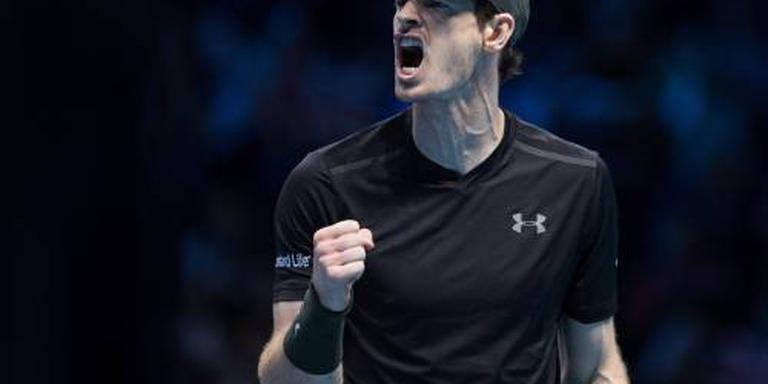 Murray knokt zich naar finale in Londen