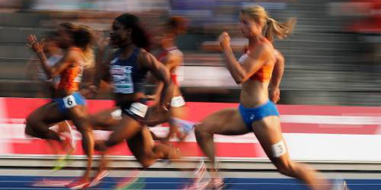 Medaillekansen voor Nederlandse sprintsters