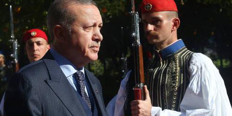 Eerste Turkse president in Athene sinds 1952