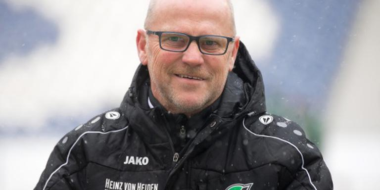 Hannover 96 ontslaat trainer Schaaf