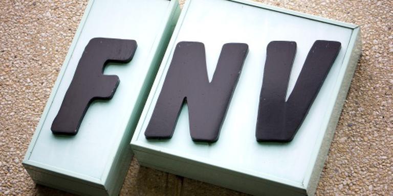 FNV protesteert tegen de bezuinigen in de thuiszorg