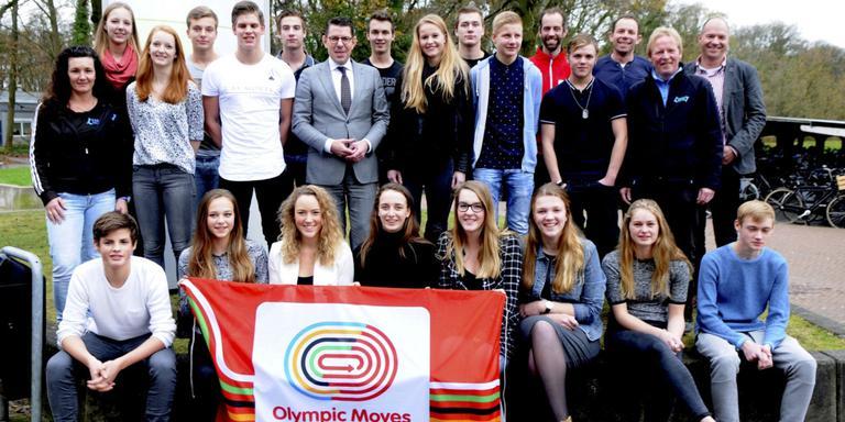 Sportieve leerlingen Emmer Esdal College in het zonnetje