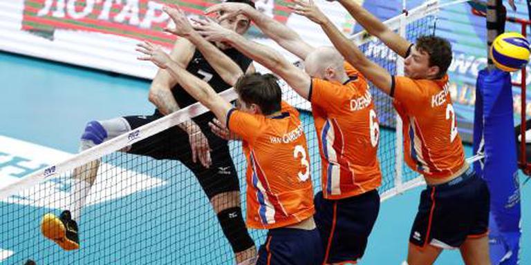 Volleyballers starten met nederlaag op WK