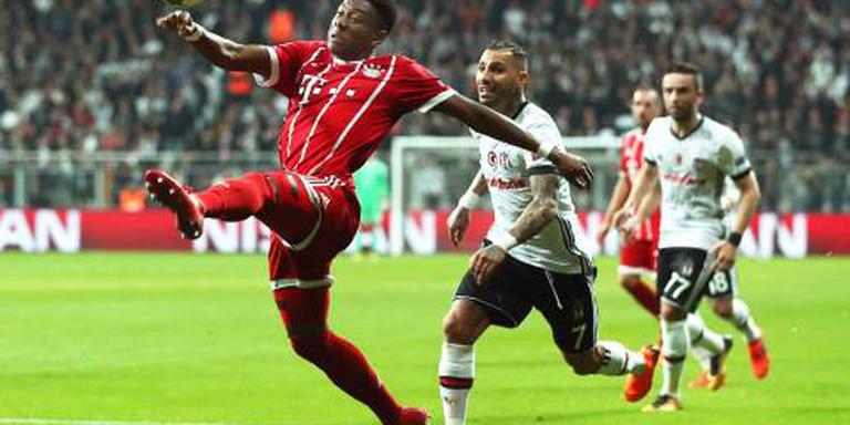 Bayern München fluitend naar kwartfinales