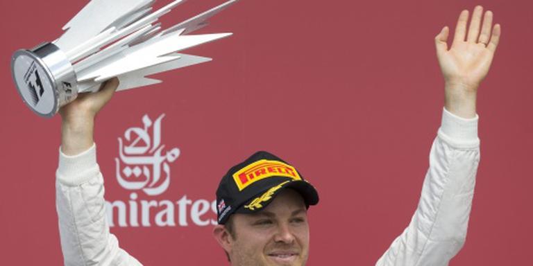 Mercedes accepteert tijdstraf Rosberg