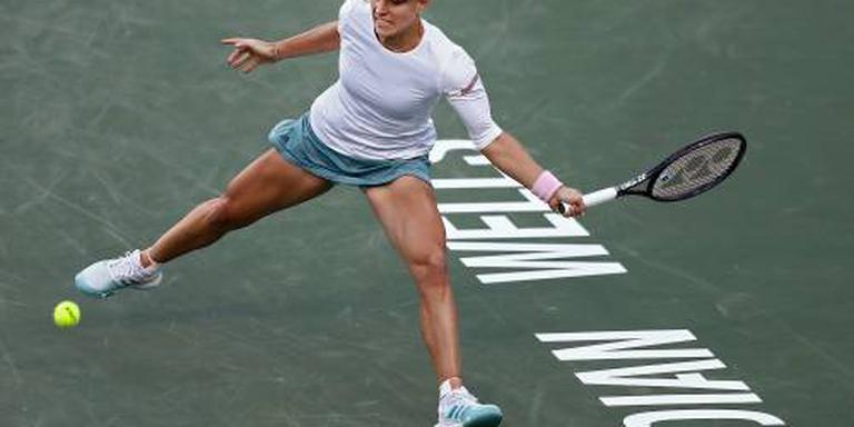 Kerber klopt Venus Williams in Indian Wells