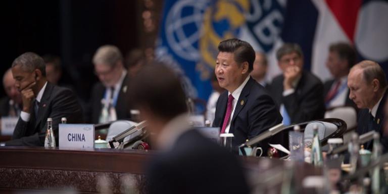 Onderonsje Obama en Poetin in China
