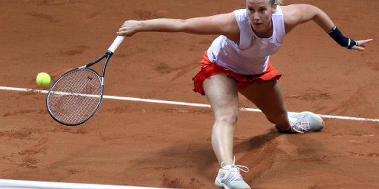 Tennisster Hogenkamp naar tweede ronde Rabat