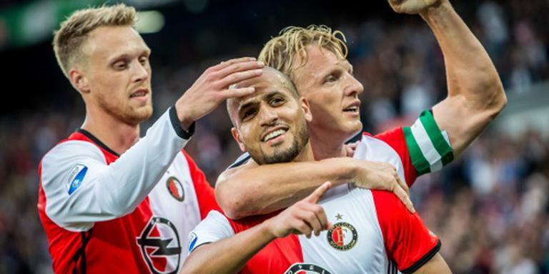Koploper Feyenoord wint ook zevende wedstrijd