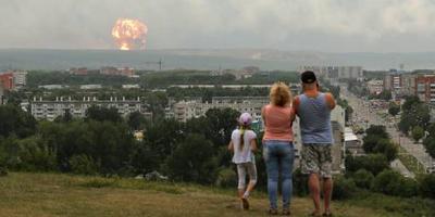 'Twee explosies bij Russisch raketincident'