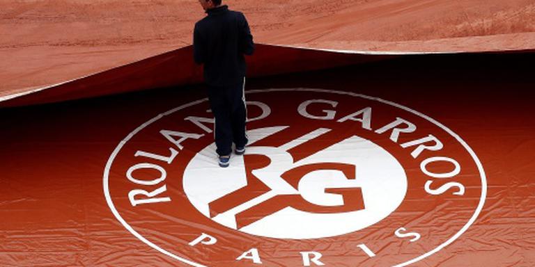 Dinsdag geen tennis meer op Roland Garros