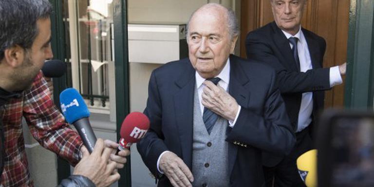 FIFA wist van deal tussen Blatter en Platini