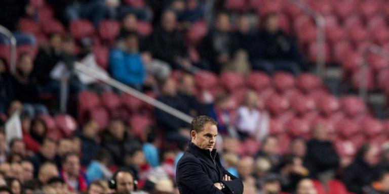 De Boer eist iedere week scherpte bij Ajax