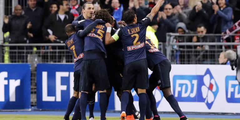 Paris Saint-Germain wint ook Franse beker