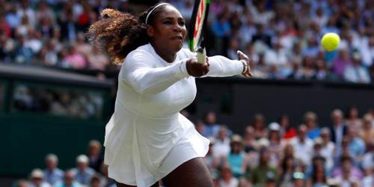 Serena Williams terug in finale Wimbledon