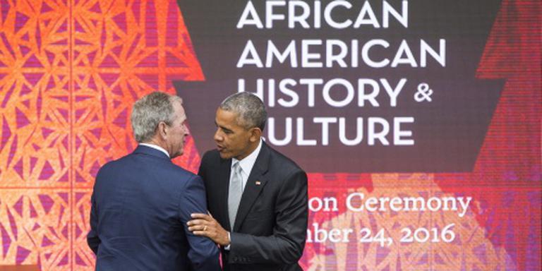 Obama opent museum voor Afro-Amerika