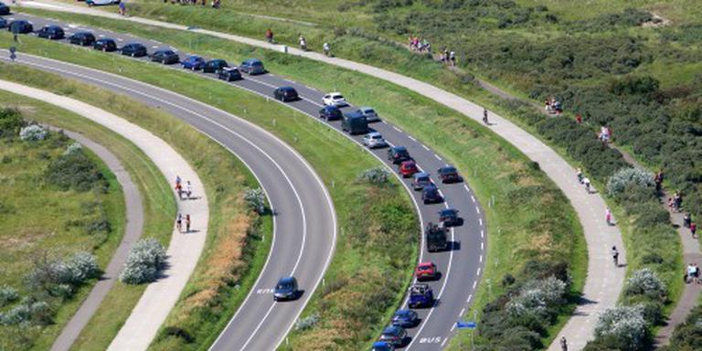 Drukte op de weg door zomer en Vierdaagse