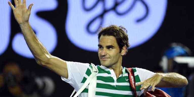 Zelfvertrouwen verslagen Federer onaangetast