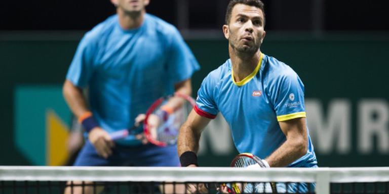 Daviscupteam mist Rojer tegen Rusland