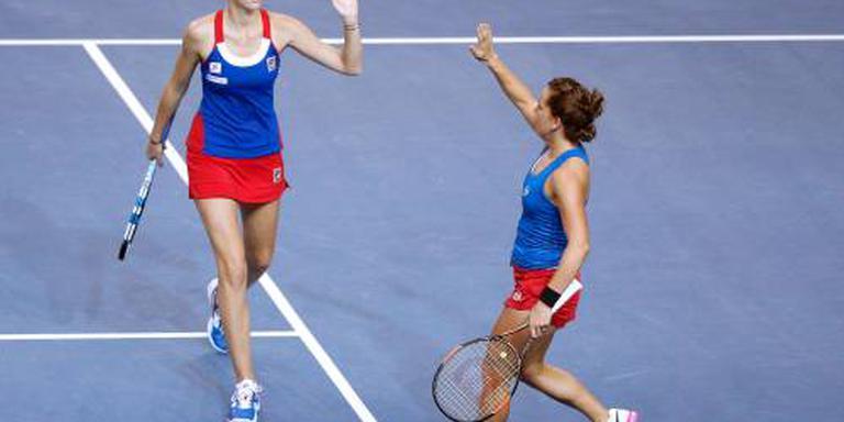 Fed Cup weer voor Tsjechische tennissters