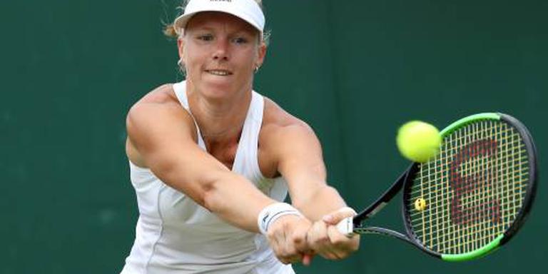 Bertens naar laatste acht op Wimbledon