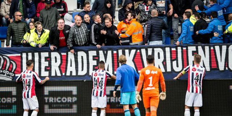 Zeven aanhoudingen na Willem II - Feyenoord