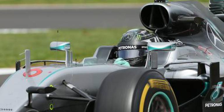 Rosberg houdt vast aan eigen plan