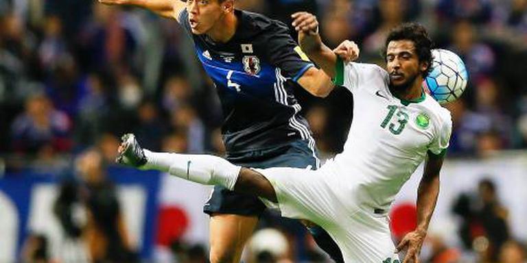 Van Marwijk verliest met Saudi's van Japan