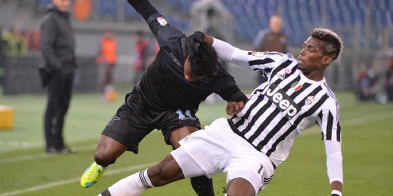Juve knikkert Lazio uit de beker