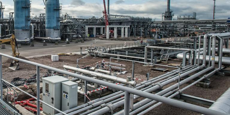 De gasopslag bij Langelo. FOTO ARCHIEF DVHN