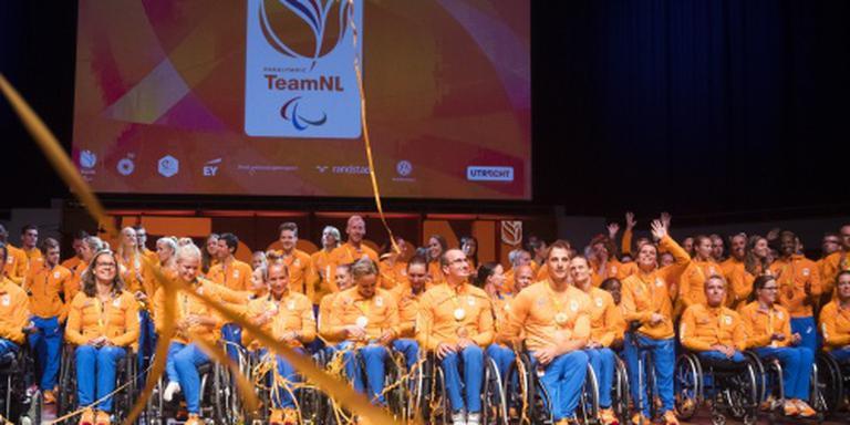 Paralympisch team feestelijk onthaald