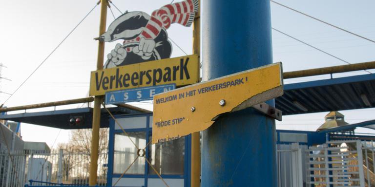 Fotoserie: Verkeerspark Assen verloedert