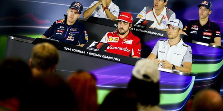 F1-coureurs hekelen besluitvorming regels