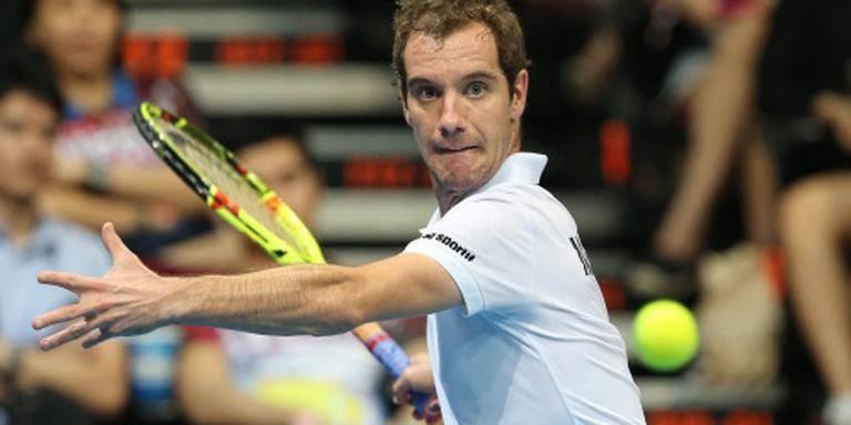 Pijnlijke rug houdt Gasquet uit Doha