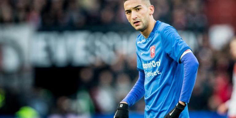 Ziyech hervat training bij FC Twente