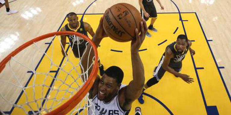Warriors verslaan Spurs weer in play-offs